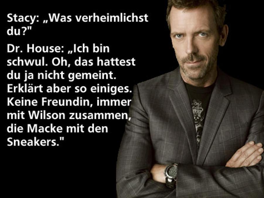 Dr. House Sprüche