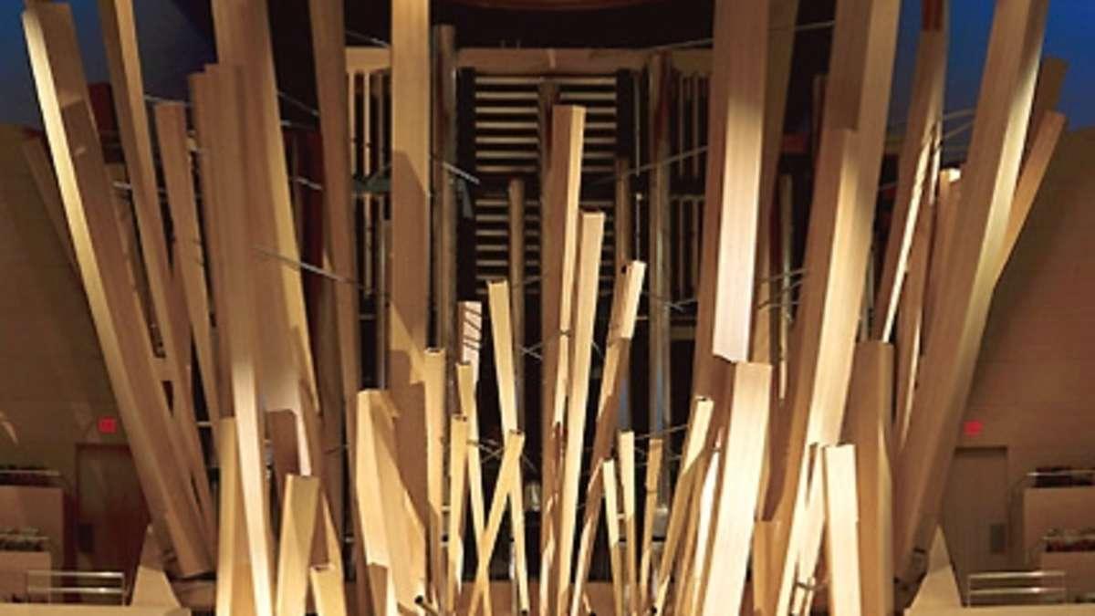 spektakul re orgeln mit au ergew hnlichen formen kassel. Black Bedroom Furniture Sets. Home Design Ideas