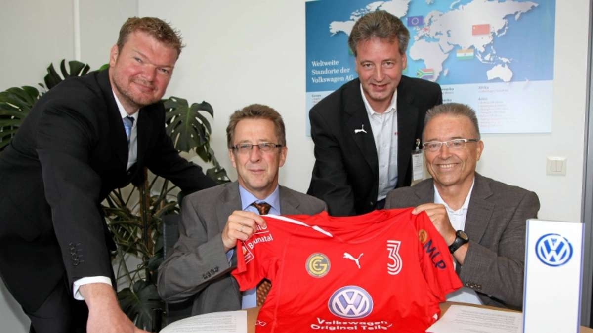 vw bei eintracht baunatal nun hauptsponsor regionalsport. Black Bedroom Furniture Sets. Home Design Ideas