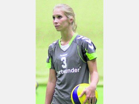 Enttäuscht: Sabrina  Hänsel von der TG. Foto: Schachtschneider