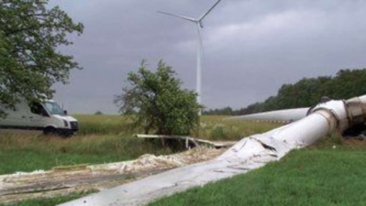 Unfall Windrad