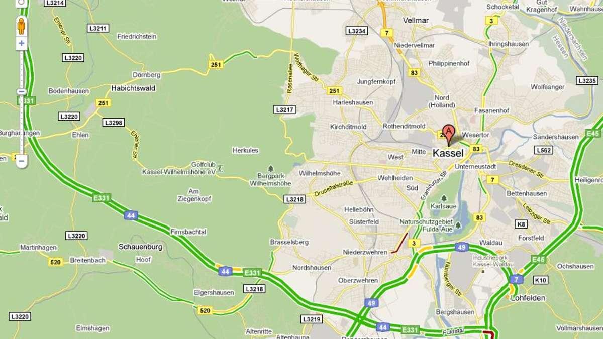 google startet mit kostenloser stau bersicht google traffic auch in deutschland netzwelt. Black Bedroom Furniture Sets. Home Design Ideas