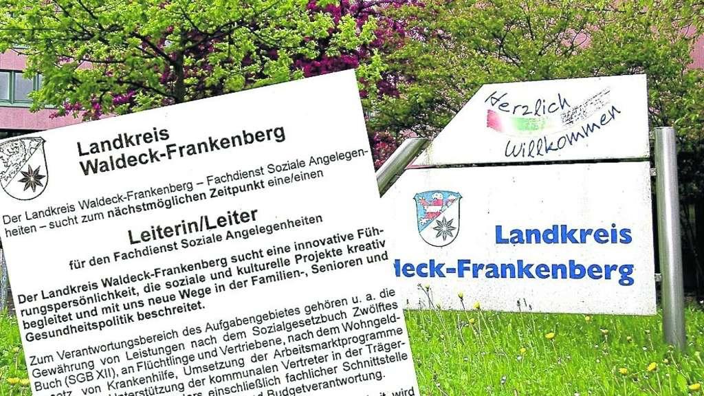 opposition kritisiert stellenbesetzung in der kreisverwaltung korbach waldeck. Black Bedroom Furniture Sets. Home Design Ideas