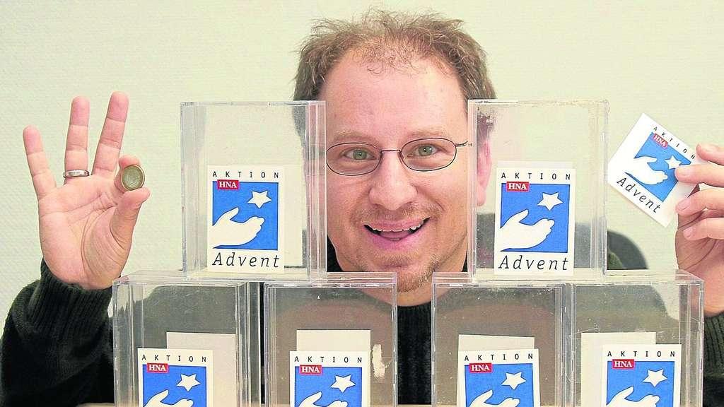 Die gute Seele von Aktion Advent: Auch in diesem Jahr ist <b>Roland Schrader</b> <b>...</b> - 301176351-432192153_344-ha7
