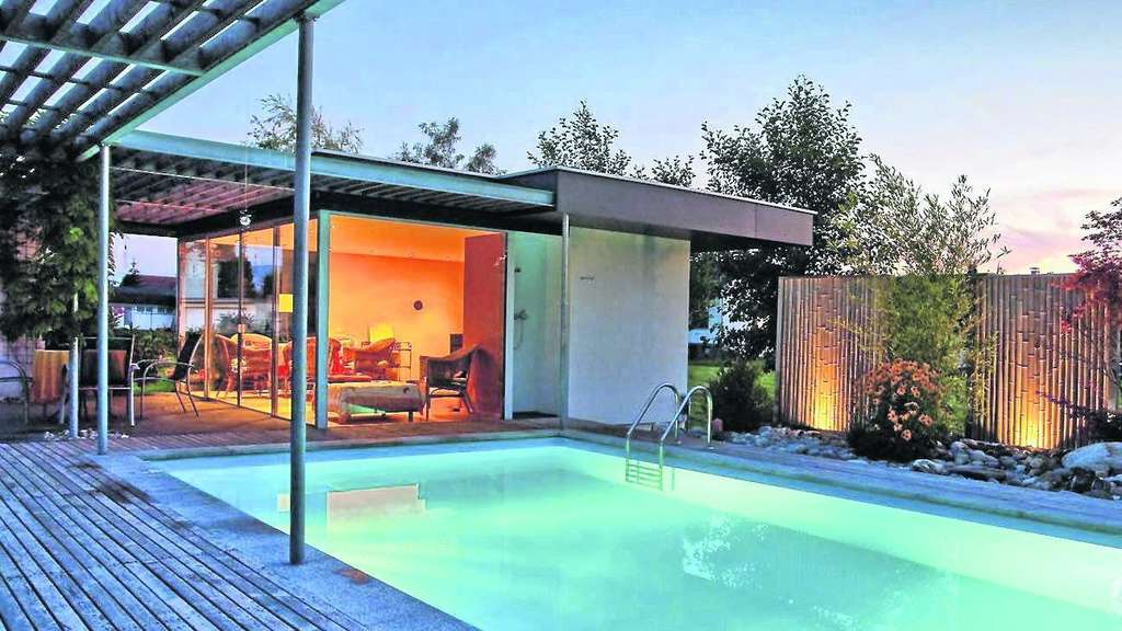 gartenwochen swimmingpool badespa im eigenen garten. Black Bedroom Furniture Sets. Home Design Ideas
