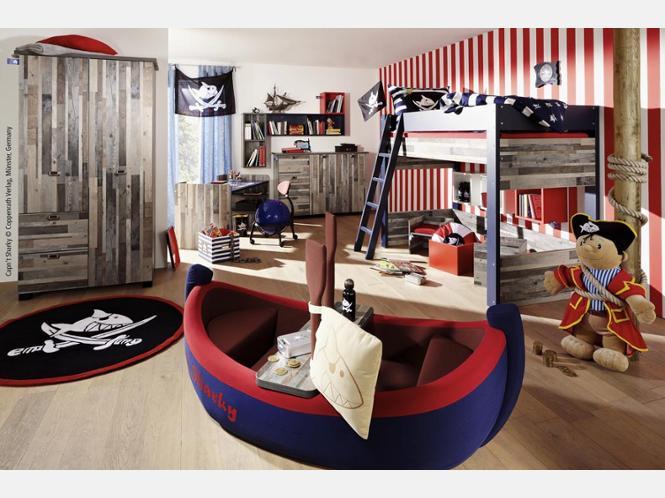 Kinderzimmer junge pirat  Kinderzimmer Gestalten Piratenschiff – bigschool.info