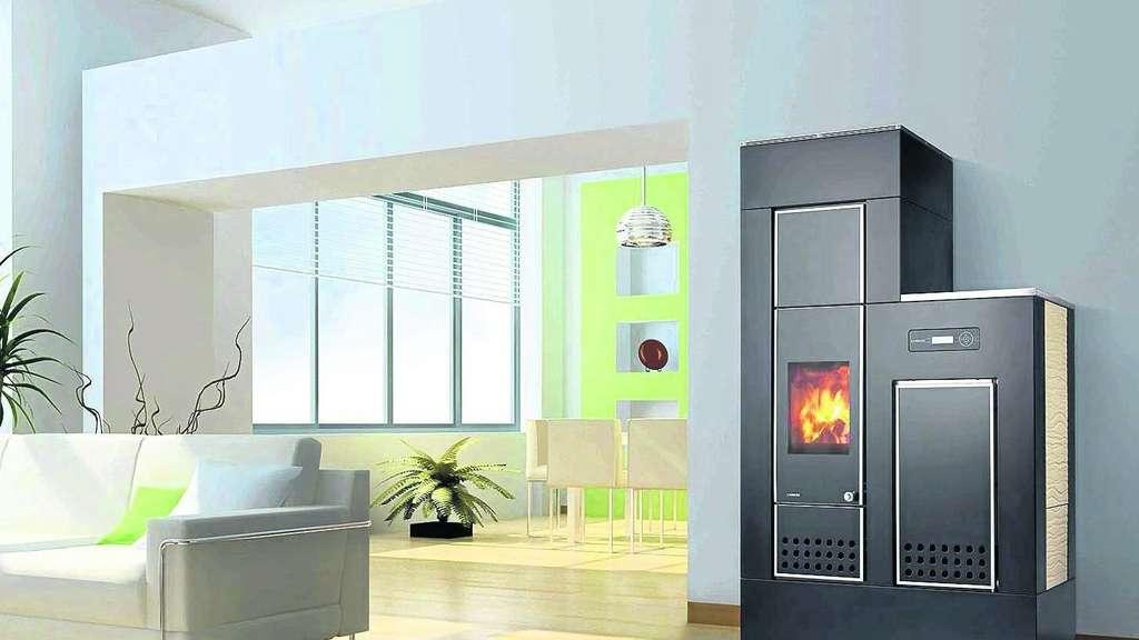 perfekte kombination kaminofen kann die zentralheizung unterst tzen wohnen. Black Bedroom Furniture Sets. Home Design Ideas