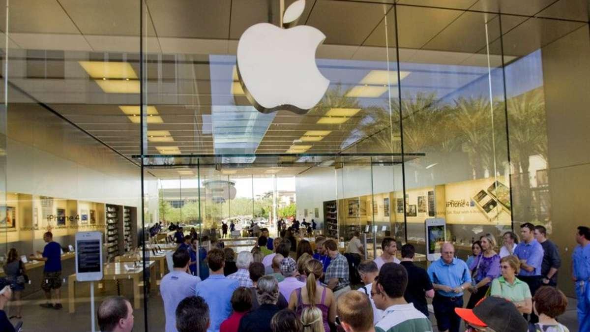 ansturm auf iphone 5 apple erh lt zwei millionen vorbestellungen netzwelt. Black Bedroom Furniture Sets. Home Design Ideas