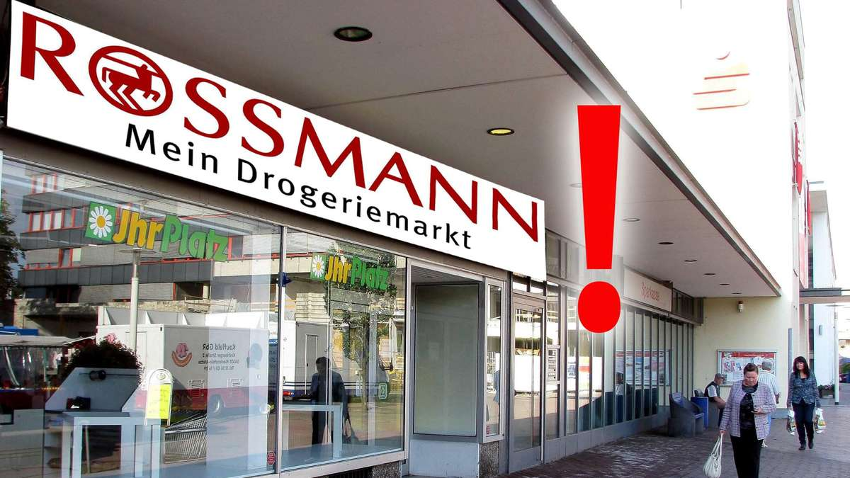 rossmann drogeriemarkt kommt an baunataler marktplatz kreis kassel. Black Bedroom Furniture Sets. Home Design Ideas