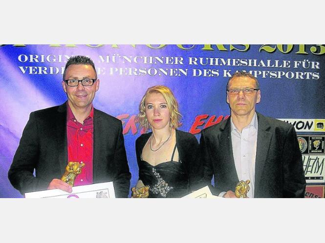 Mündener Trio in München geehrt | Kampfsport