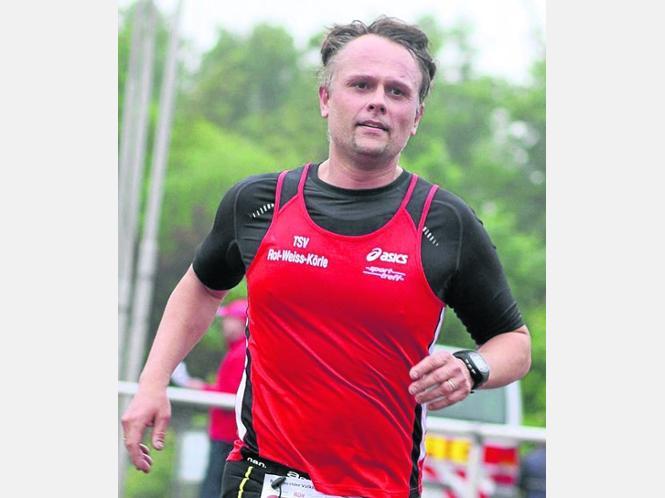 Schnell unterwegs: Carsten Wohlrab (TSV RW Körle) festigte seine Spitzenposition. Fotos:Schattner