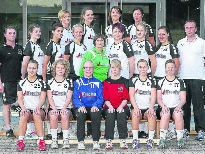 Der Aufstieg ist das Ziel: die Frauen der HSG Bad Wildungen/Friedrichstein/Bergheim.
