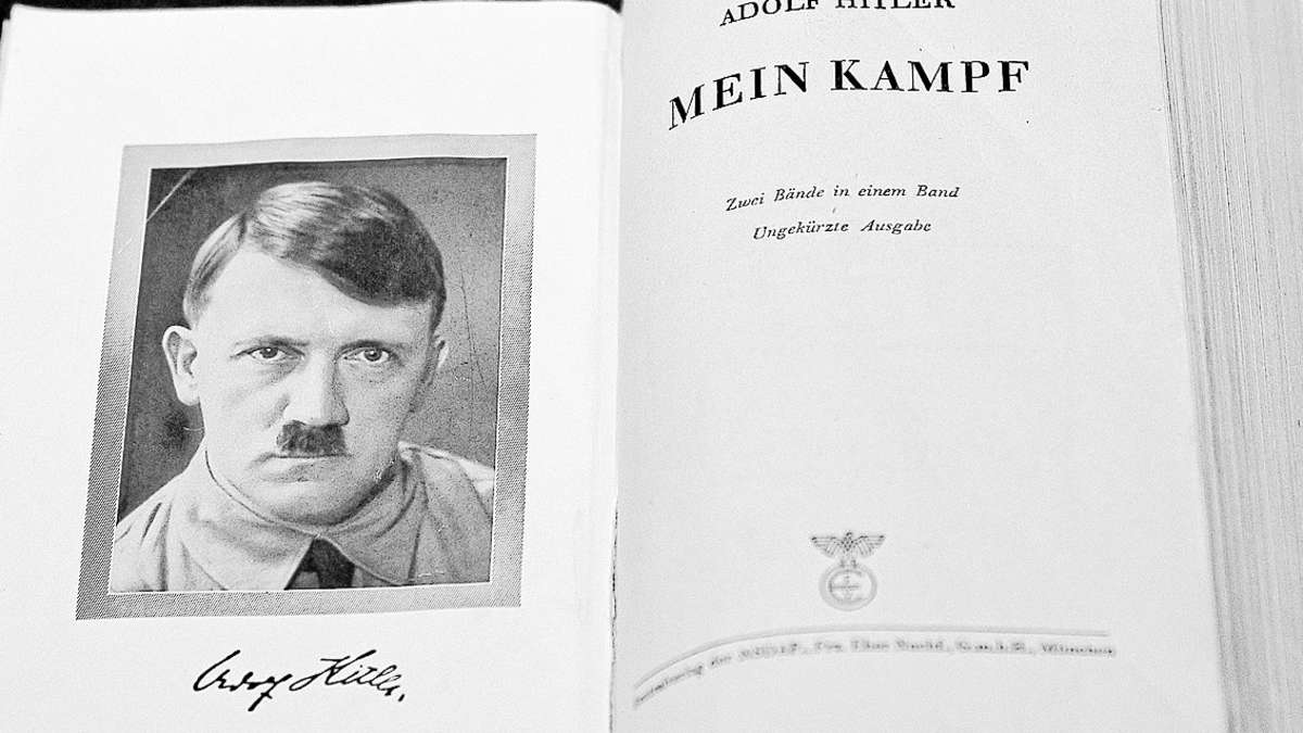 adolf hitlers mein kampf bestseller buch in amerika politik. Black Bedroom Furniture Sets. Home Design Ideas