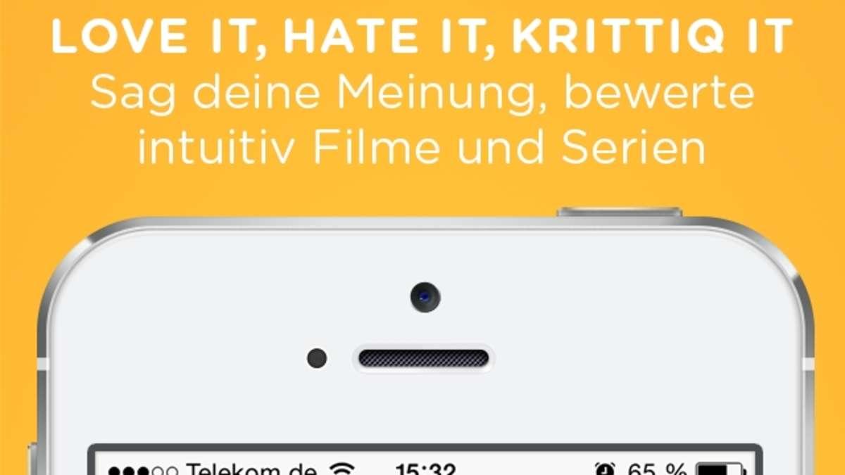 app aus kassel mit krittiq kinofilme online bewerten. Black Bedroom Furniture Sets. Home Design Ideas