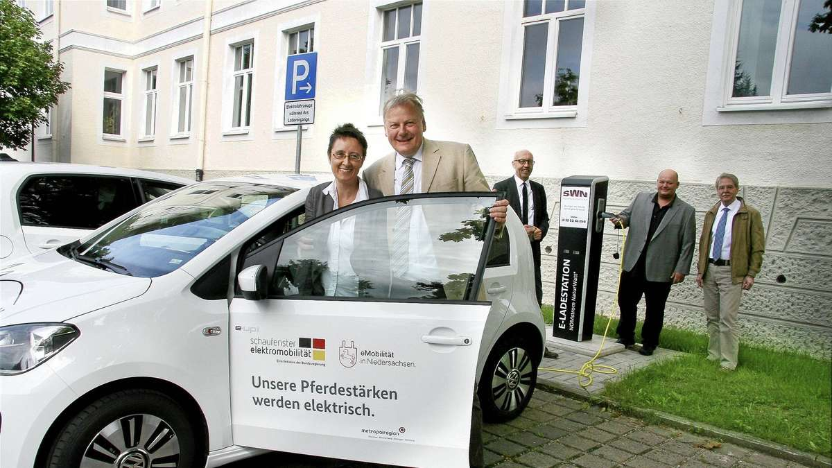 stadt northeim bietet neue ladestationen f r e autos. Black Bedroom Furniture Sets. Home Design Ideas
