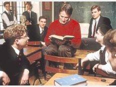 """Keating in peter weirs film """"der club der toten dichter"""" 1989"""