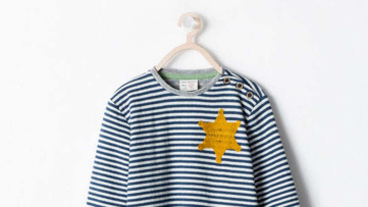 zara mode sorgt f r entsetzen t shirt erinnert an kz. Black Bedroom Furniture Sets. Home Design Ideas