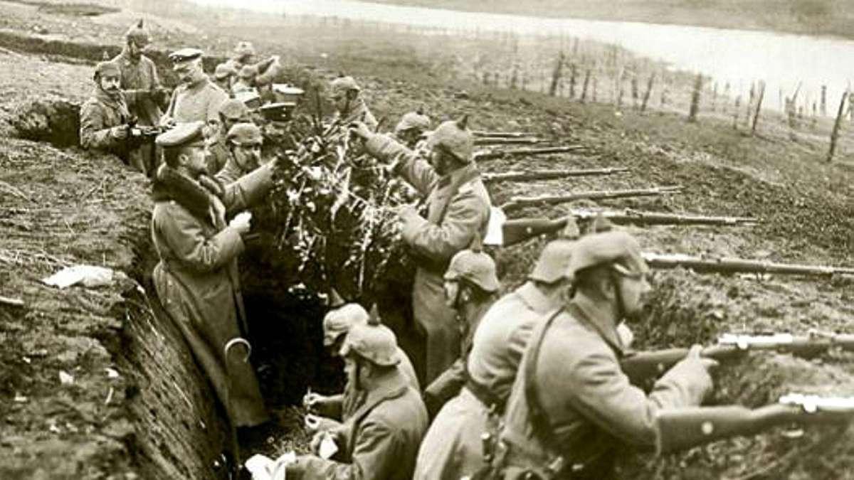 Weihnachten 1 Weltkrieg