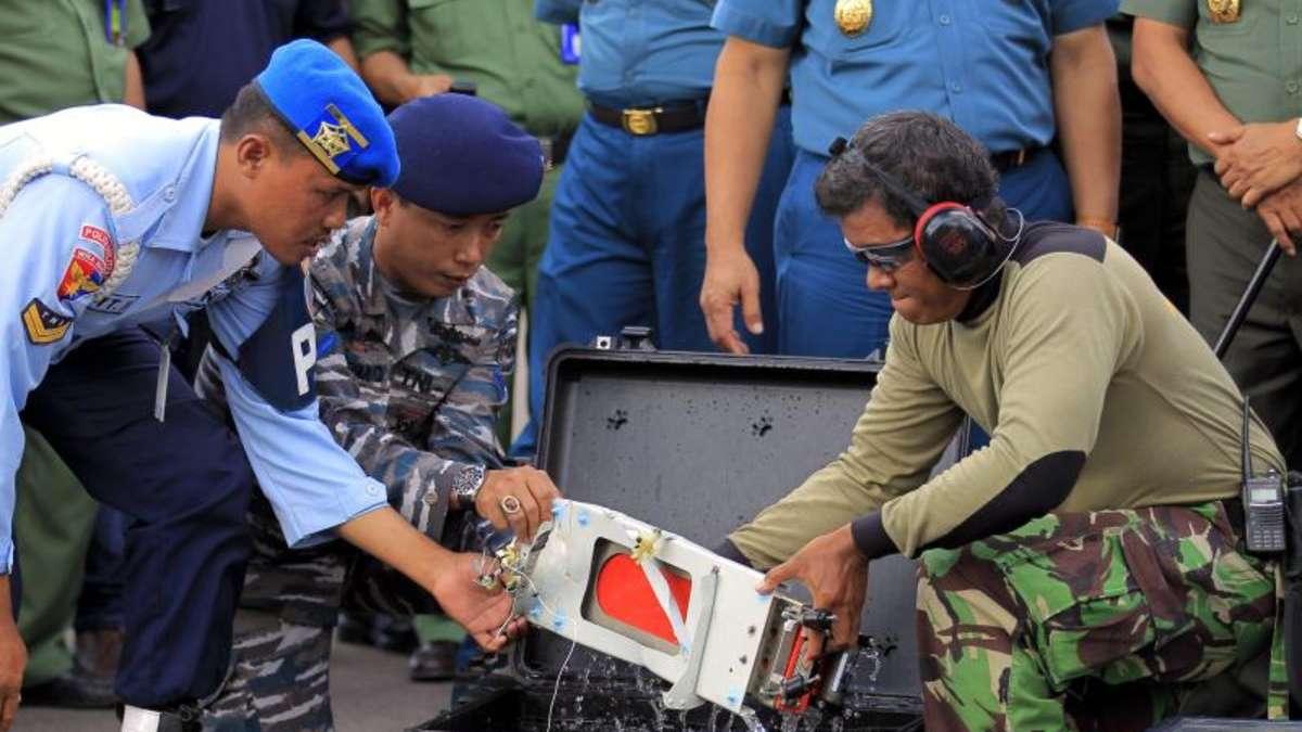 Zweiter flugschreiber der airasia-maschine geborgen