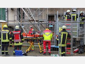 Unfall bei Rathaussanierung: Mann stürzte drei Meter tief - HNA.de