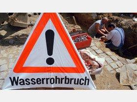 Rohrbruch: Straße Kattenbühl in Hann. Münden gesperrt - HNA.de