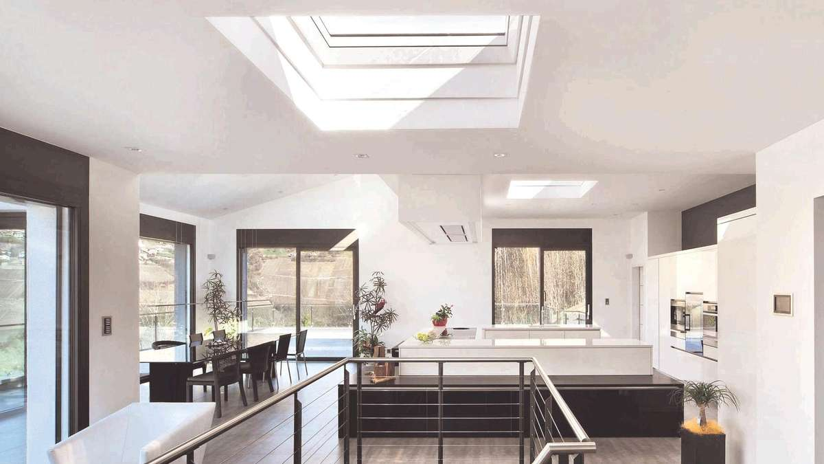 wohnen und garten mehr tageslicht f r drinnen wohnen. Black Bedroom Furniture Sets. Home Design Ideas