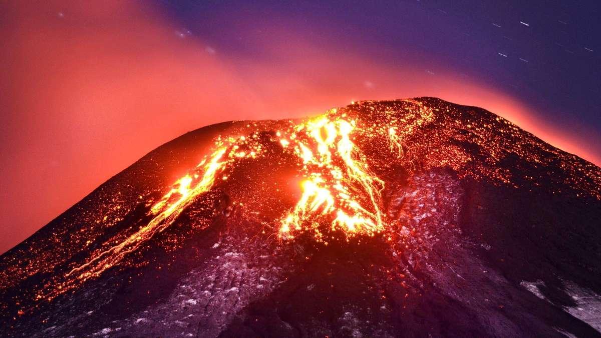 Lava Vulkan