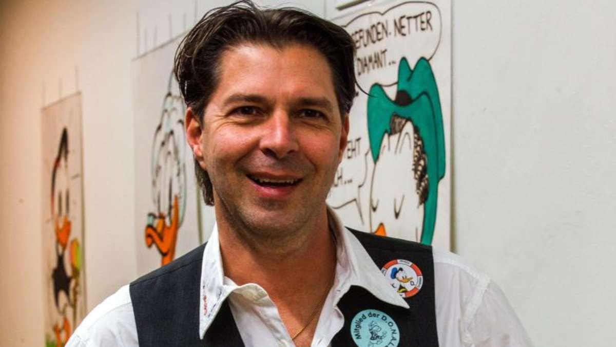 Der Präsident der Donaldisten: Rainer Bechtel. Foto: Jens Büttner