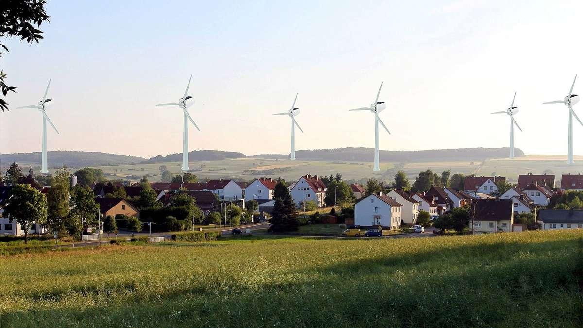 Moringer Bürger machen gegen Windkraft auf der Weper mobil - HNA.de