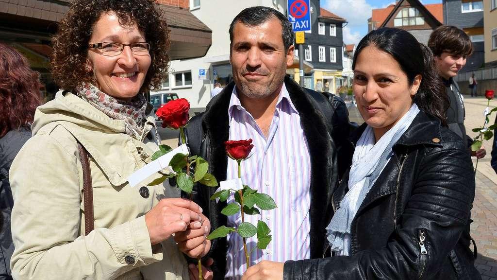 Květiny pro imigranty