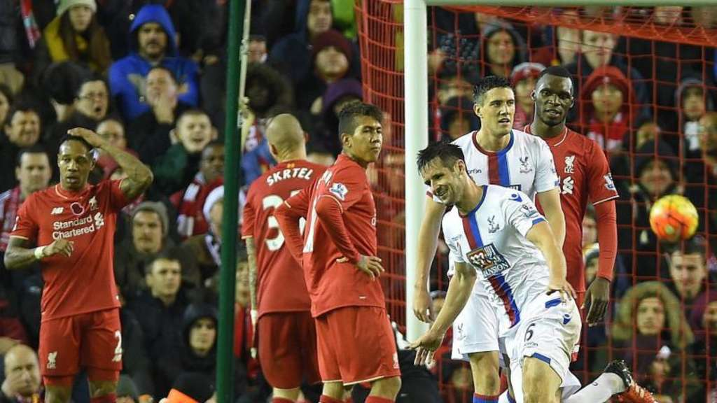 Liverpool verlor gegen Crystal Palace mit 1:2. Foto: Peter Powell