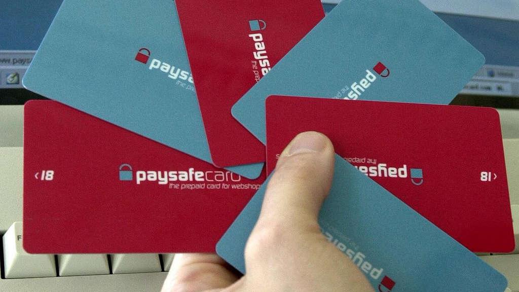 wie funktioniert paysafe karten