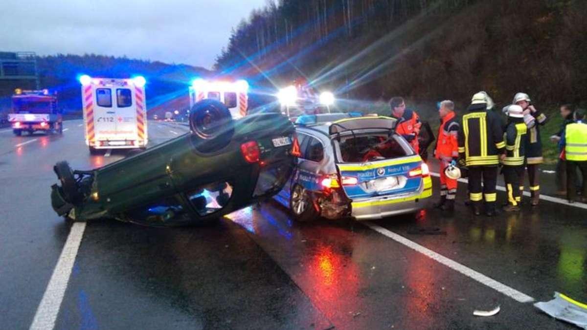 Unfall Hattenbacher Dreieck