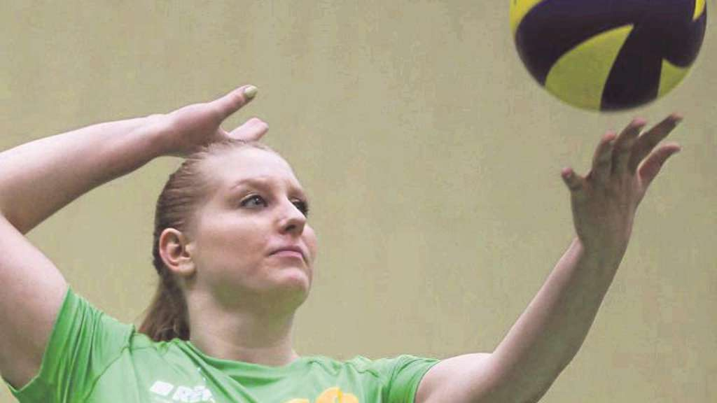 Wieder einsatzbereit: Zuspielerin Anna-Lena Stark vom TV Jahn. Foto: Schachtschneider/nh