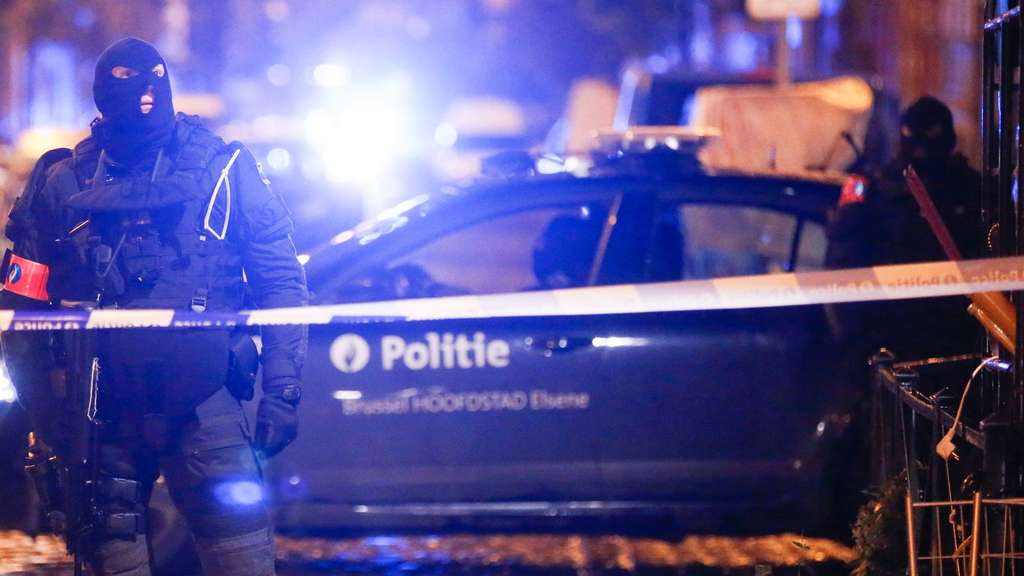 Belgien, Razzia, Polizei, IS