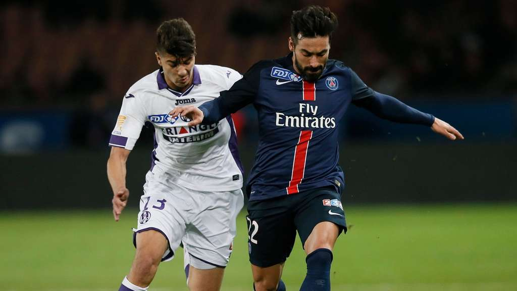 Fußball, Ezquiel Lavezzi, China, Paris St. Germain, Hebei China Fortune