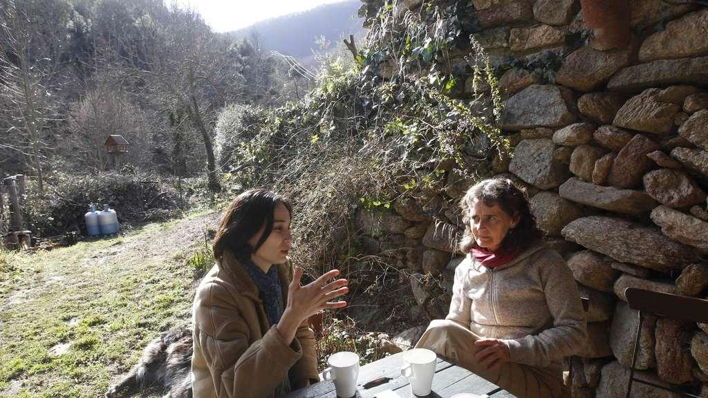 Anne Laure Mager (l.) und Madhu Elvin