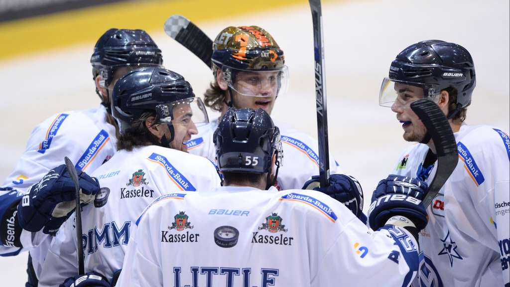 DEL2, Play-Off, Towerstars gegen Kassel Huskies am 26.03.2016 in Ravensburg
