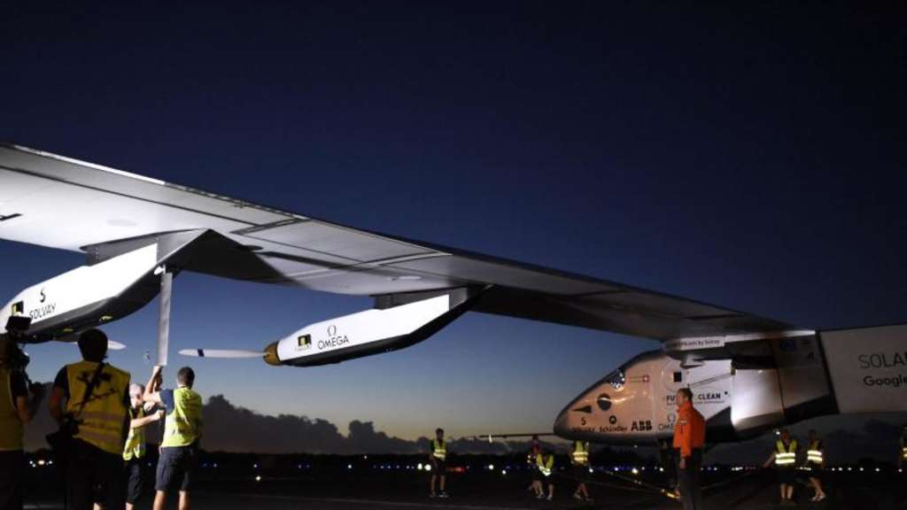 "Sonnenflieger ""Solar Impulse 2"" in Arizona gelandet"
