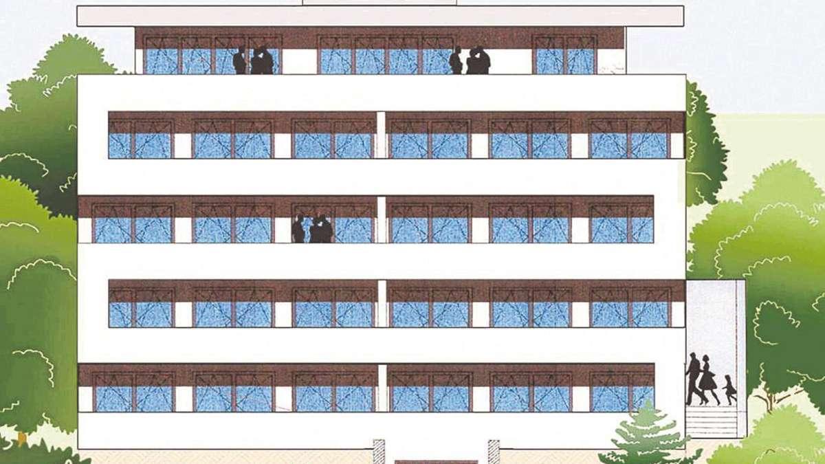 baustart f r neun wohnungen mehrfamilienhaus entsteht an tischbeinstra e wehlheiden. Black Bedroom Furniture Sets. Home Design Ideas