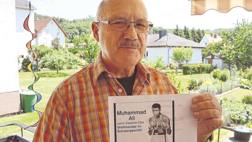 Legende Muhammad Ali machte Felsberger zum Fan