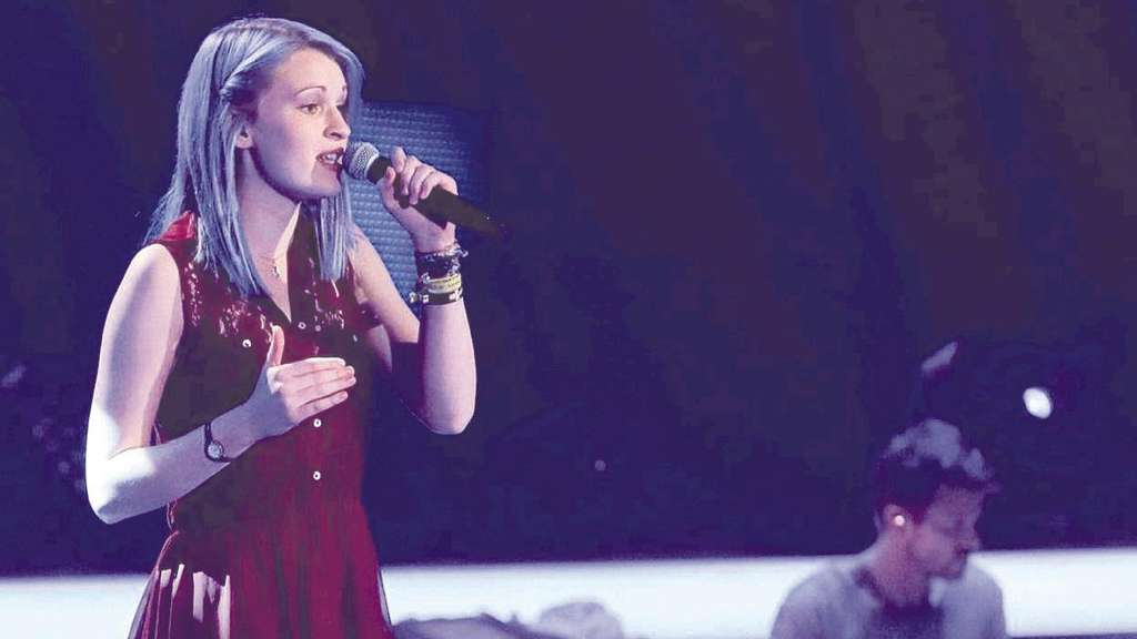"Hanna Sachs nimmt an ""The Voice of Germany"" teil"