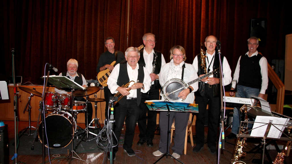 Die Riverside Jazz Messengers spielten in Guxhagen