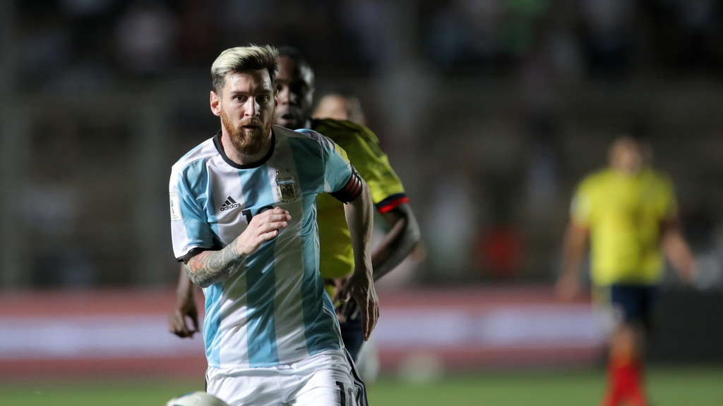 Argentiniens Superstar Lionel Messi.