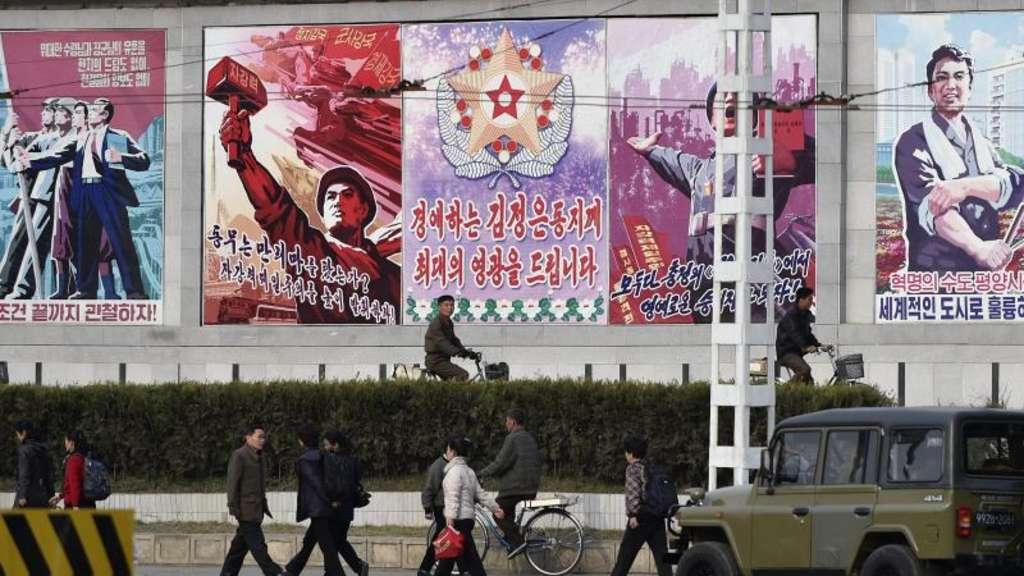Nordkorea testet trotz Verboten ballistische Rakete