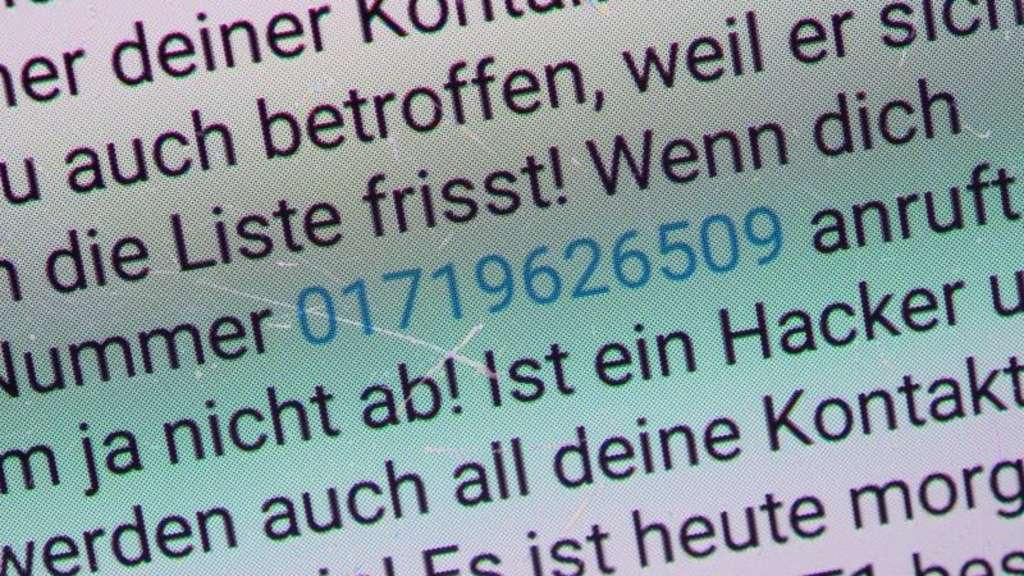 Whatsapp-Kettenbrief mit neuem Namen in Umlauf