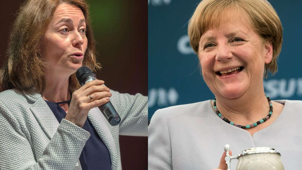 Deutschland: SPD wirft Merkel nach deren Bierzeltrede