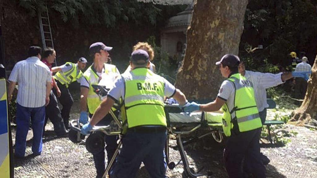 Baum stürzte auf Prozession in Madeira: Tote und Verletzte