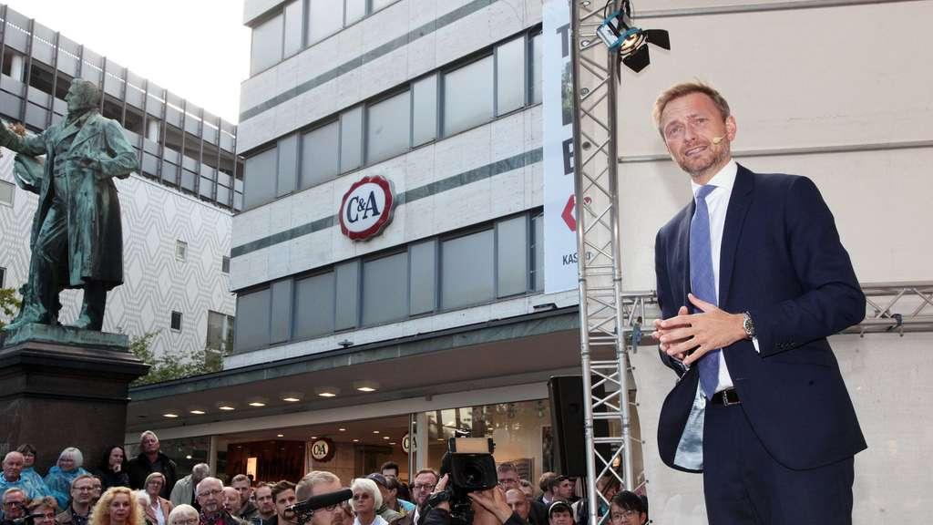 FDP-Chef Lindner will AfD als Oppositionsführer verhindern