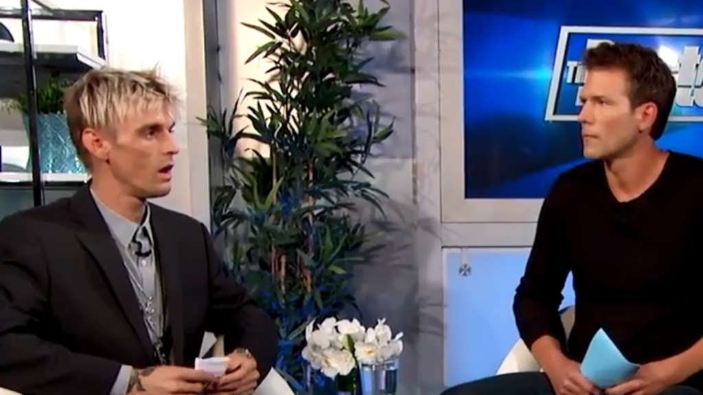 Im US-Fernsehen | Hier erfährt Aaron Carter das Ergebnis seines HIV-Testes